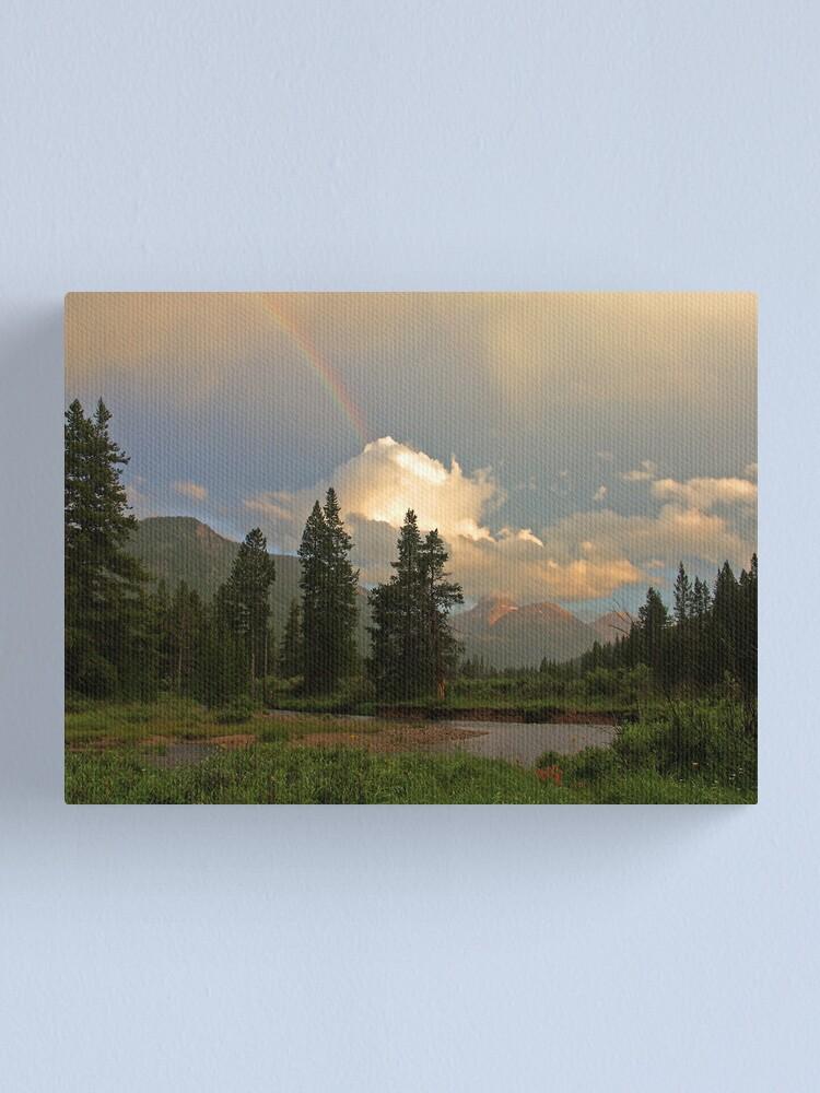 Alternate view of Rainbow Light Canvas Print