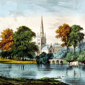 Stratford on Avon - 1907 by CrankyOldDude