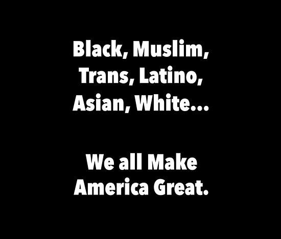 We all make America Great by Vishavjit Singh