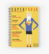 Real Life Superhero Spiral Notebook