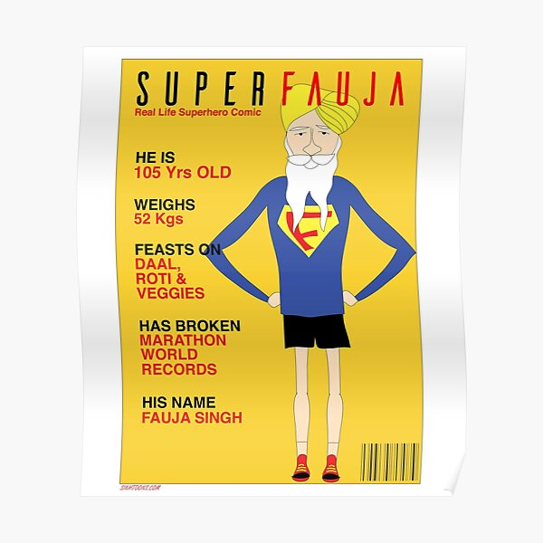 Real Life Superhero Poster
