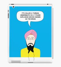 What under the Turban? iPad Case/Skin
