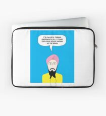 What under the Turban? Laptop Sleeve