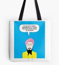 What under the Turban? Tote Bag