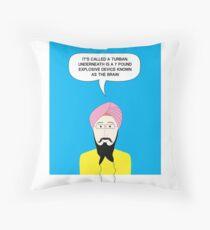 What under the Turban? Throw Pillow