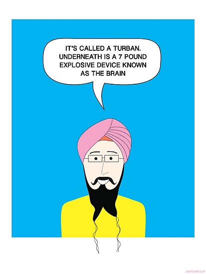 What under the Turban? by Vishavjit Singh