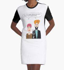 American Gothic: We are from right here. Graphic T-Shirt Dress
