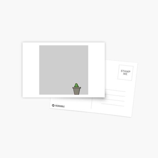 Zeichenteufel - Kaktus Postkarte
