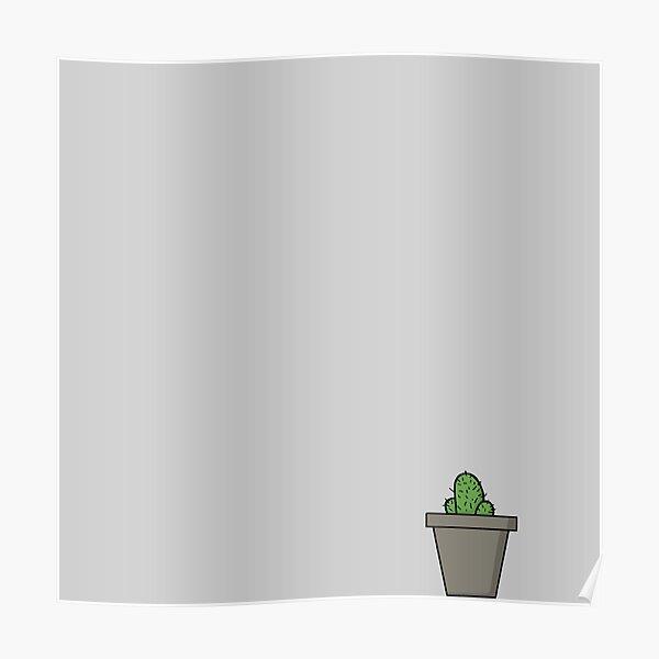 Zeichenteufel - Kaktus Poster