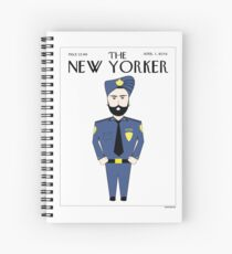 Sikh New Yorker Spiral Notebook