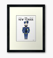 Sikh New Yorker Framed Print