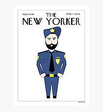 Sikh New Yorker Photographic Print