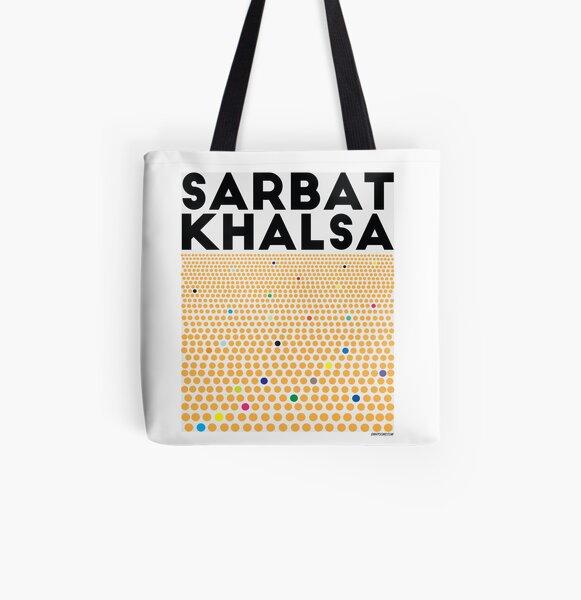 Sarbat Khalsa: Grand Gathering of Sikhs All Over Print Tote Bag