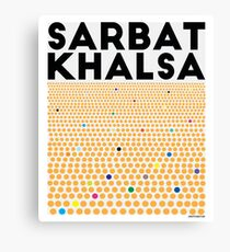 Sarbat Khalsa: Grand Gathering of Sikhs Canvas Print