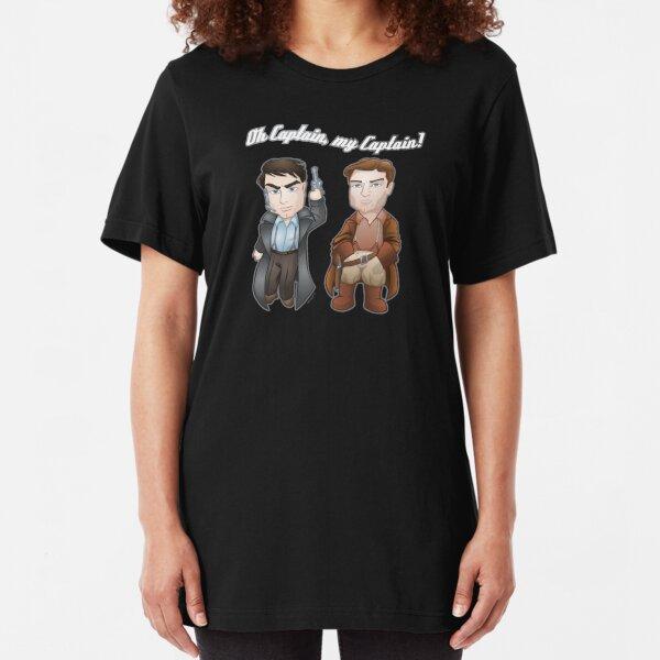 Oh Captain, My Captain! Slim Fit T-Shirt