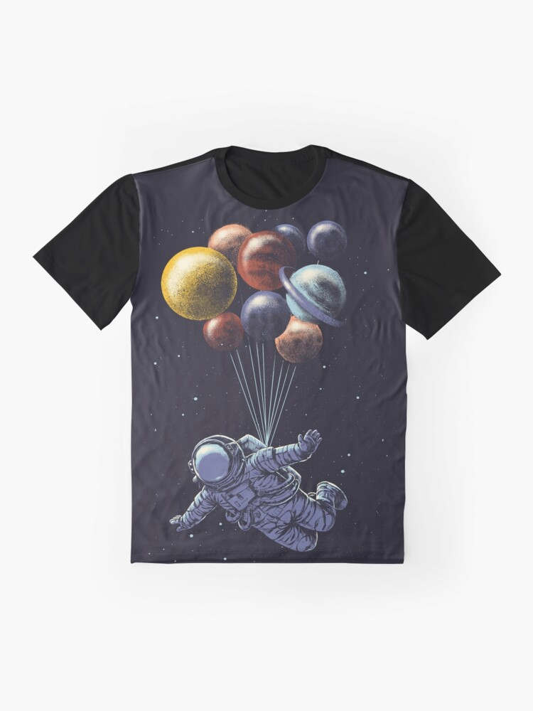 Alternate view of Space Travel Graphic T-Shirt