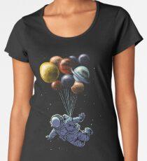 Space Travel Premium Scoop T-Shirt