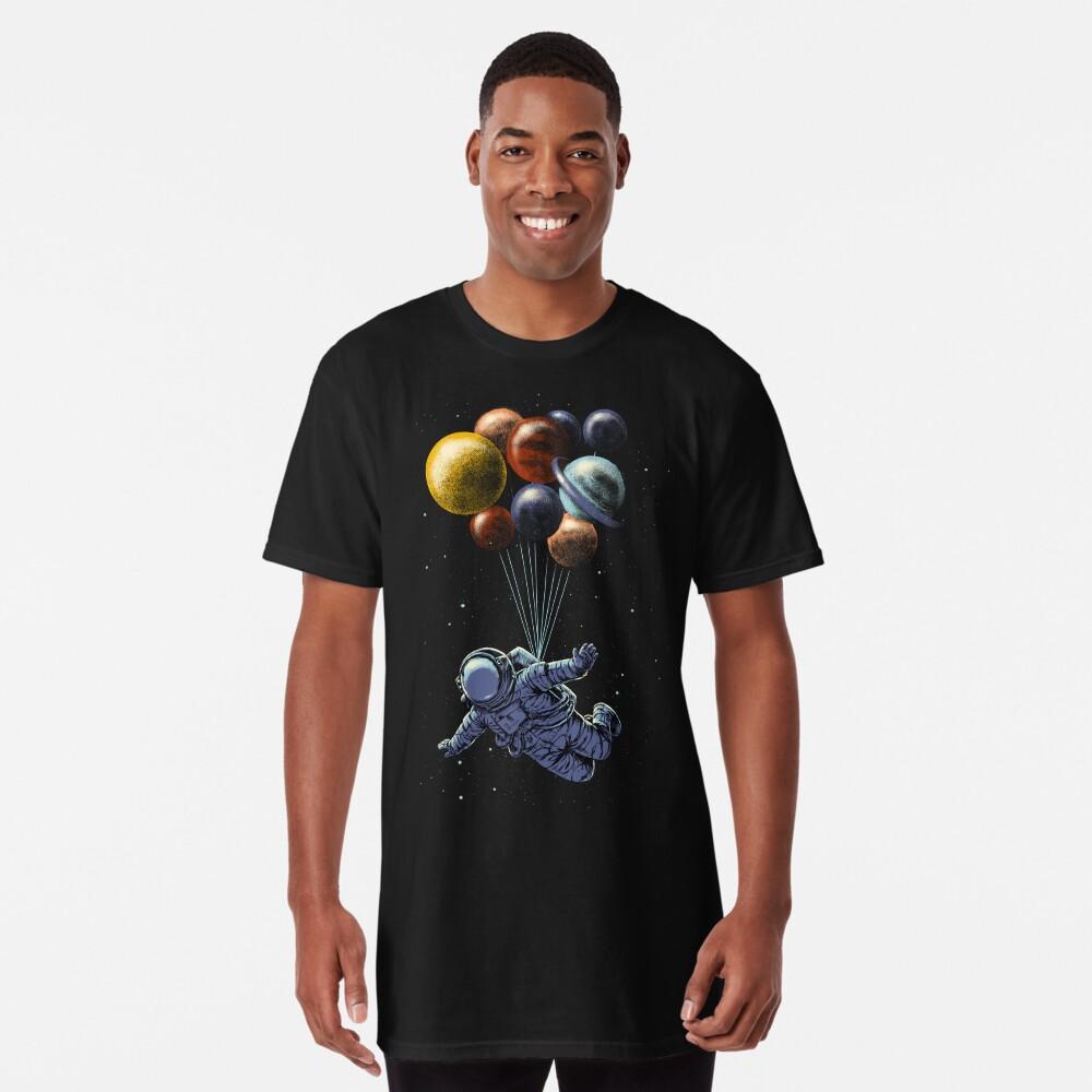 Viaje espacial Camiseta larga