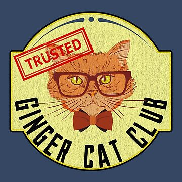 Ginger Cat Club by Alandoubleu