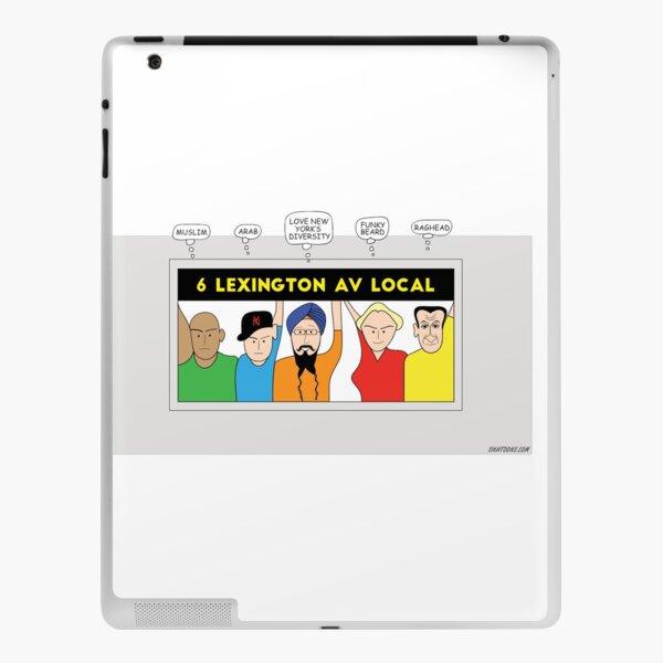 NYC Turban ride iPad Skin