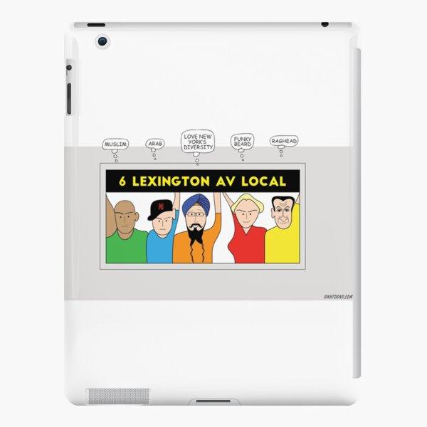 NYC Turban ride iPad Snap Case
