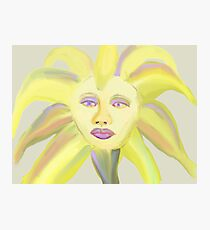 Painted Icon Photographic Print