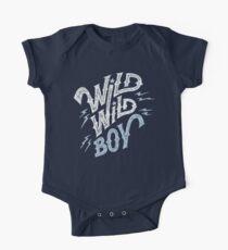 Wild Wild Boy One Piece - Short Sleeve