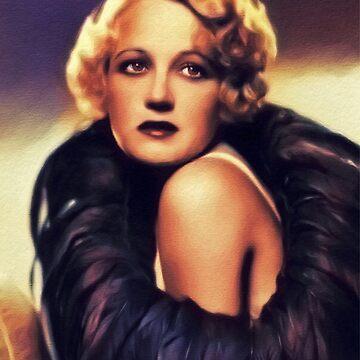 Wynne Gibson, Vintage Actress by SerpentFilms
