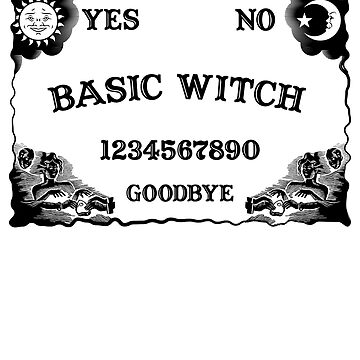 Basic Witch Ouija Board  by cl0thespin