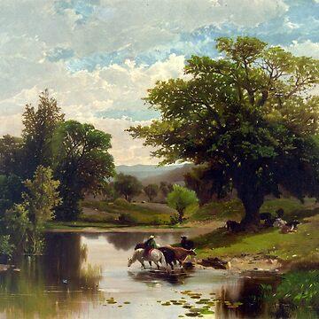 Summer Landscape - 1869 by CrankyOldDude