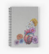 Beautiful Heart Spiral Notebook