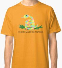 Machen Sie Schlangen Classic T-Shirt