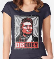 Chief Joseph Disobey Women's Fitted Scoop T-Shirt