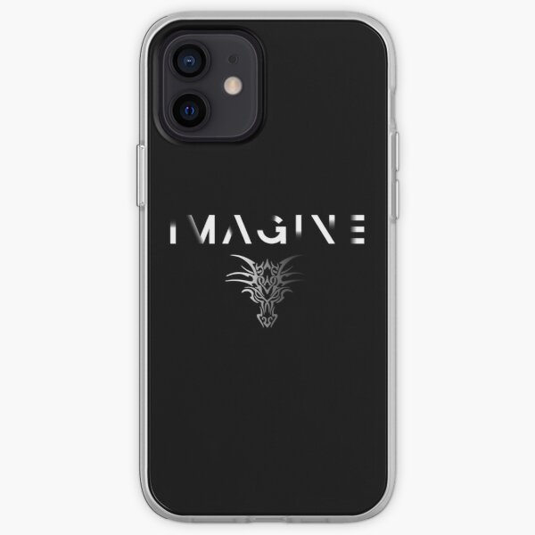 Imagining a Fading Dragon iPhone Soft Case
