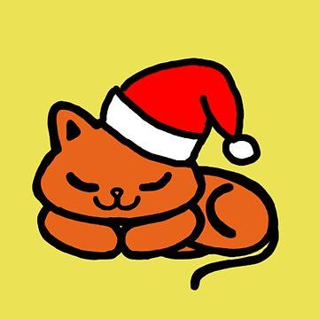 Christmas Cat by Celesten