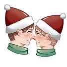 Weihnachts Pärchen 2 von Vinula