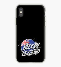 Lazarbeam - Bloody Legend Merchandise iPhone-Hülle & Cover