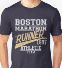 The Boston Marathon, t-shirt design Unisex T-Shirt