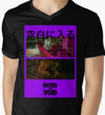 Betritt die Leere - Gaspar Noe T-Shirt mit V-Ausschnitt für Männer