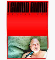 I Stand Alone - Gaspar Noe Poster