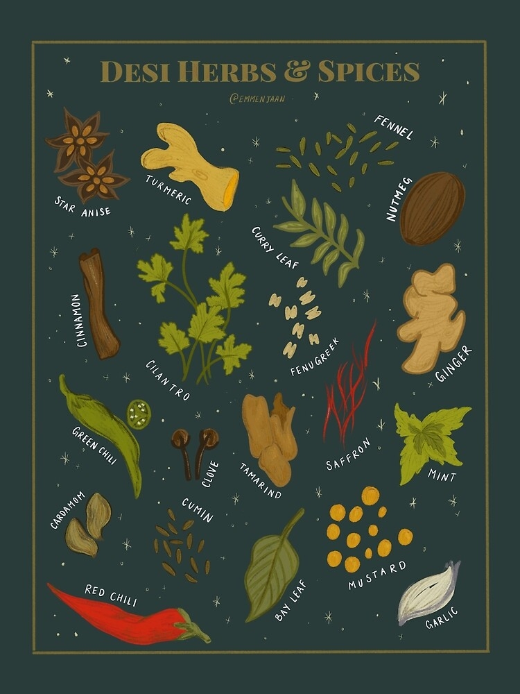Desi Herbs and Spices by Emmen Ahmed