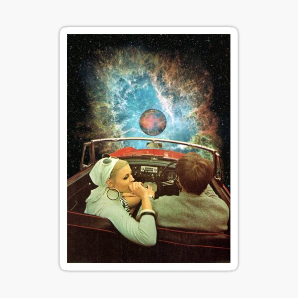 SPACE TRIP. Sticker