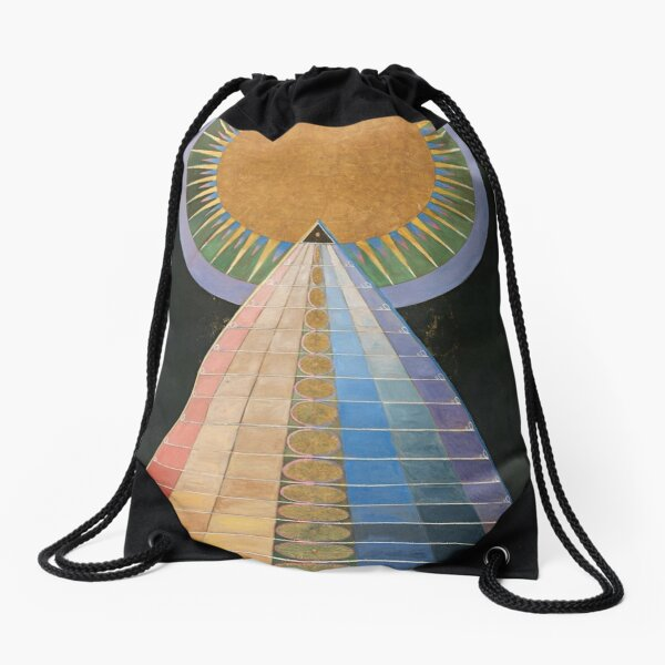 Altarpiece No 1 Group X Hilma Af Klint  Drawstring Bag