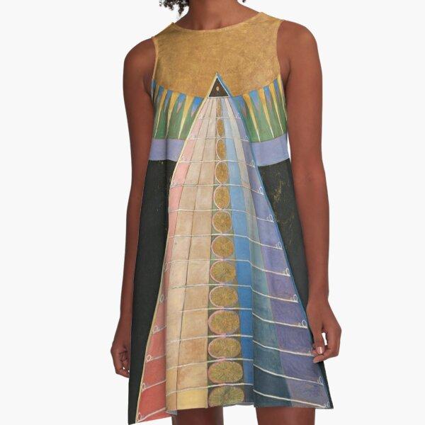 Altarpiece No 1 Group X Hilma Af Klint  A-Line Dress