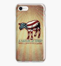 A Nation of Sheep iPhone Case/Skin