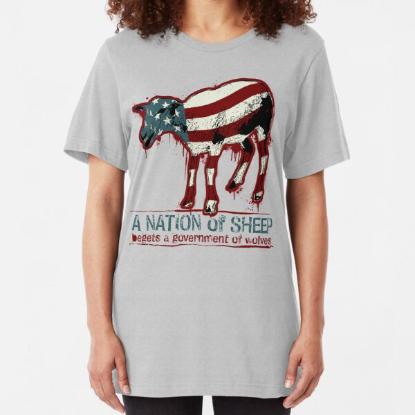 A Nation of Sheep Slim Fit T-Shirt