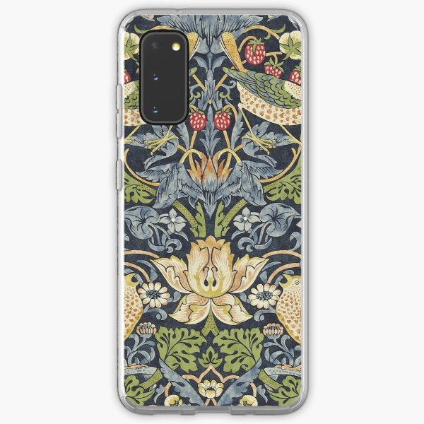 William Morris Strawberry Thief Original  Samsung Galaxy Soft Case
