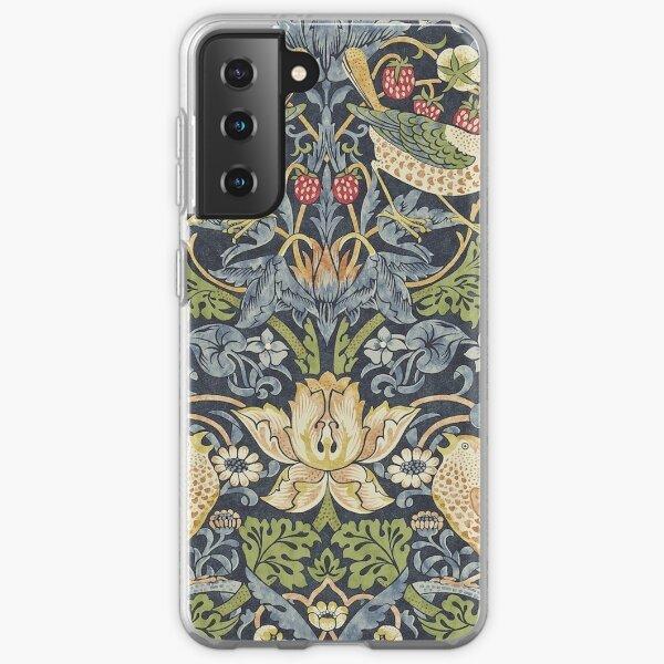 William Morris Strawberry Thief Original  Samsung Galaxy Soft Case