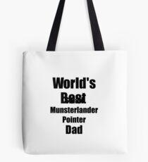 Small Munsterlander Pointer Dad Dog Lover World's Best Funny Gift Idea For My Pet Owner Tasche