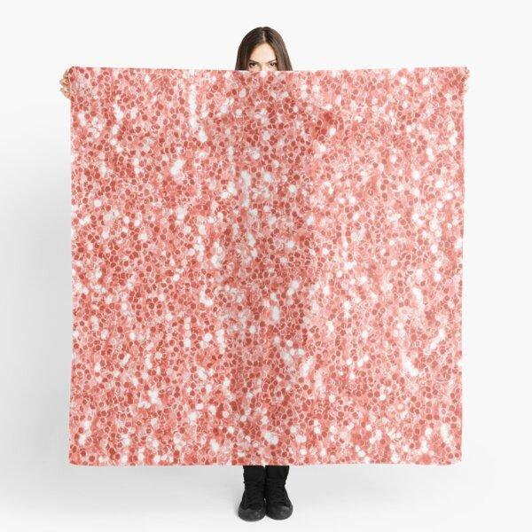 Daisy Flower Silver Foil Scarf Sparkle Glitter Ladies Womens Festive Soft Wrap